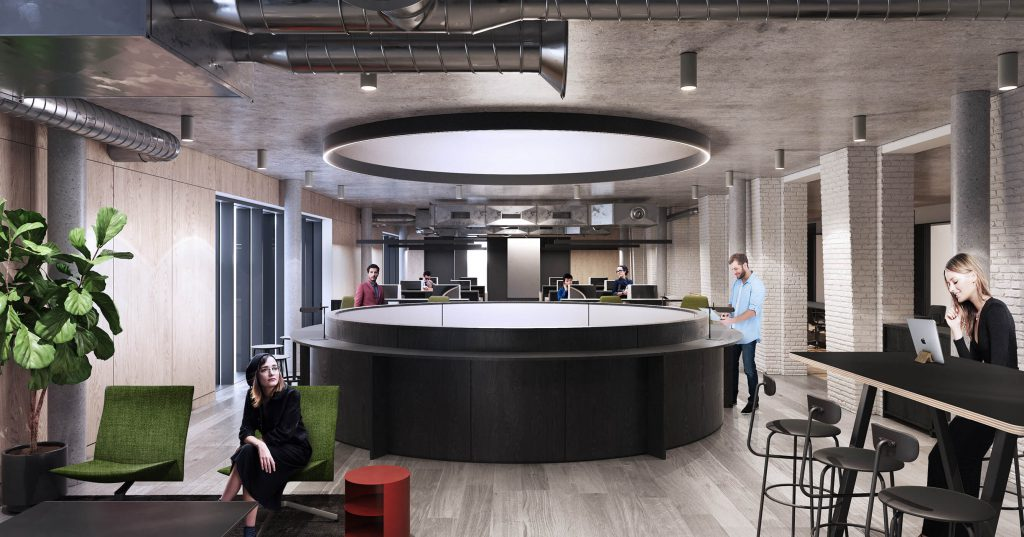 large office space. Far From Just Being A Cookie Cutter Work Space However, This Vauxhall Serviced Office Also Provides Ample Amenities For Your Team To Use During Their Large