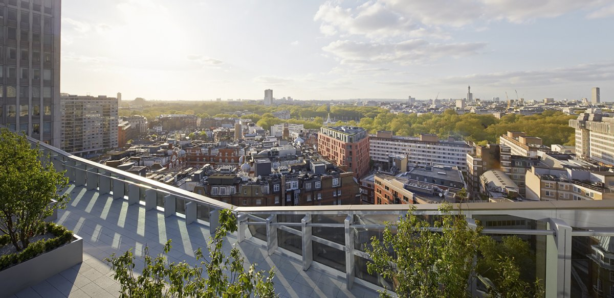 62 Buckingham Gate roof terrace