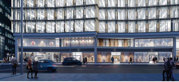 the zig-zag building exterior